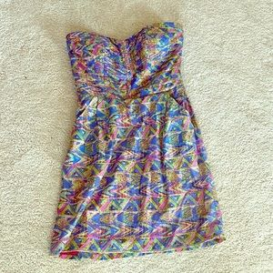 Mini strapless dress from South Moon Under